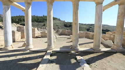 3rd century BC Ancient Hierapolis (St. Phillippe Martyrion)