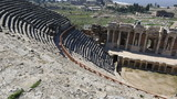 3rd century BC Ancient Hierapolis City at Turkey (Amphiteather)