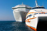 Luxury boats and passenger ships