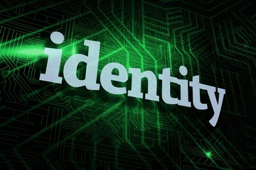 Identity against green and black circuit board