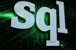 Sql against green and black circuit board