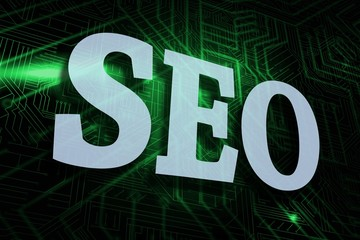 Seo against green and black circuit board
