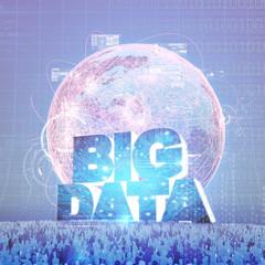 BIG DATA crowd concept II
