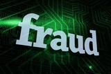 Fraud against green and black circuit board