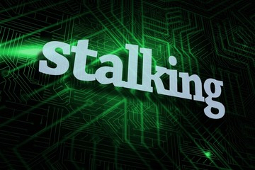Stalking against green and black circuit board