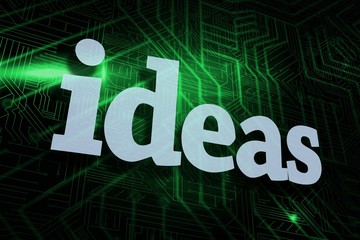 Ideas against green and black circuit board