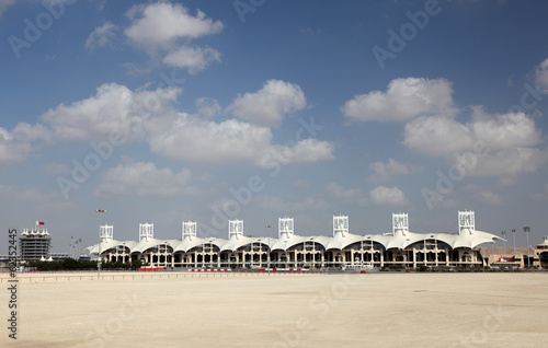 Bahrain International Circuit. Manama, Middle East