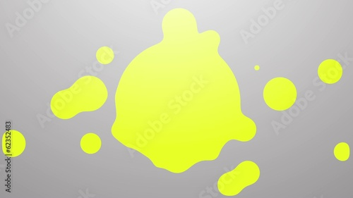 Ink Drop Yellow Colour