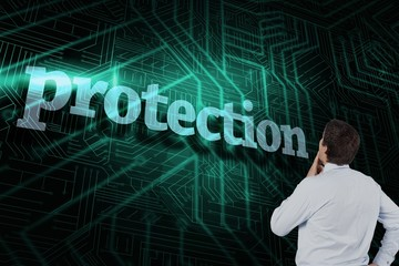 Protection against green and black circuit board