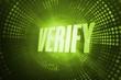 Verify against green pixel spiral