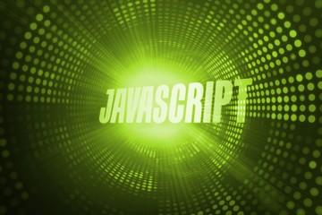 Javascript against green pixel spiral