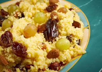 Mesfouf - Citrus Couscous Salad
