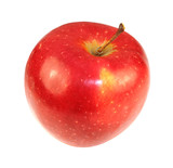 bright ripe apple