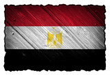 Egypt flag on wood tag