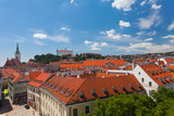 View of the historical center of Bratislava , Slovakia