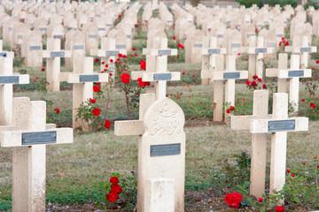 cimetière militaire de Cernay, Haut-Rhin, Alsace