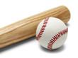 Baseball and Bat - 62358005