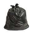 Leinwanddruck Bild - Black Trash Bag
