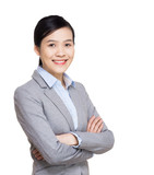 Asia businesswoman portrait