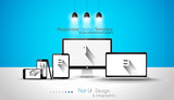 Modern devices mockups fpr your business project