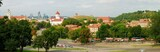 Panorama of old Vilnius city, Lithuania