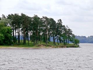Kaunas artificial sea - Nemunas river weir