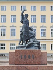 Monument in the Tallinn city