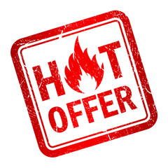 Hot offer stamp