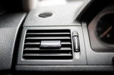 modern car ventilation system. Air conditioning of automobile