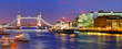 London Tower bridge - panorama