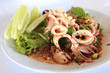 Thai style spicy squid