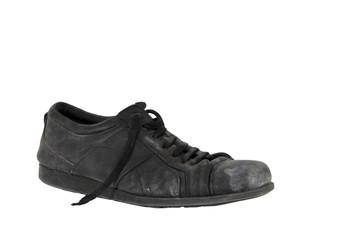 used leather vintage old shoe