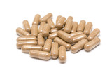 Natural Plant Treatment Pills Isolated