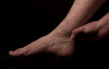 Human anatomy series: achilles' tendon