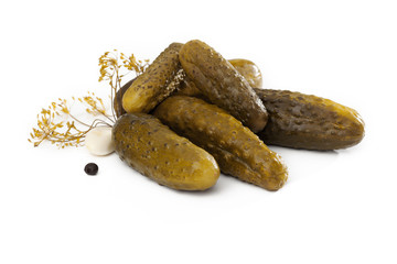 Composition of gherkins