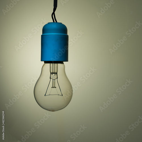Bad wiring - old incandescent light bulb, needs upgrade
