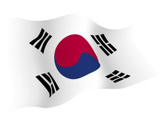 韓国 国旗 国