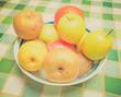 Retro look Fruits