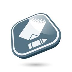 notiz symbol zeichen modern icon