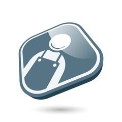 handwerker symbol zeichen modern icon