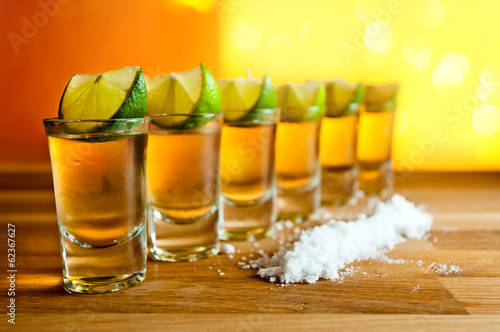 tequila , lime and salt