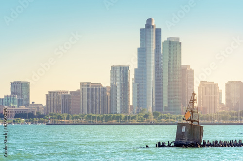 Foto op Plexiglas Grote meren The Buoy in Lake Michigan