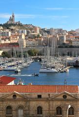 Vieux Port Marsiglia Francia