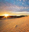 Beautiful landscape in desert
