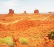 Monument valley - valley of rocks, Arizona/Utah