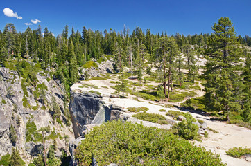 Taft point lookout, Yosemite, California