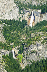 Nevada Fall and Vernal Fall, Yosemite National Park, California