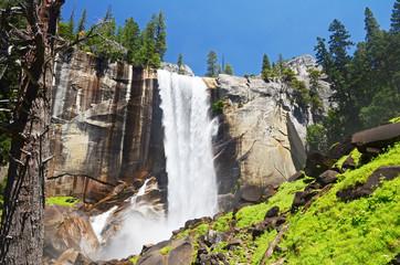 Vernal Fall in Yosemite National Park, California