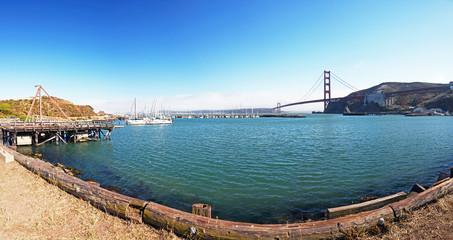 Marina by Golden Gate Bridge, San Francisco