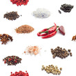 Seamless spices background
